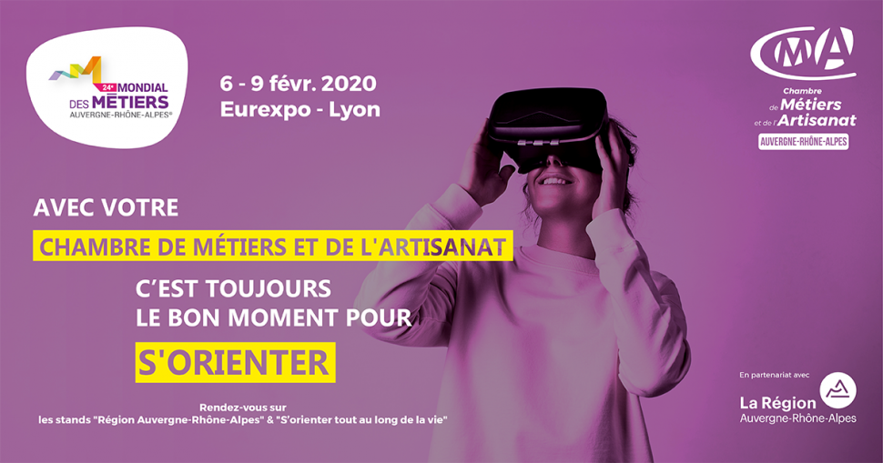 [RÉGION] Mondial des Métiers - du 6 au 9 février 2020