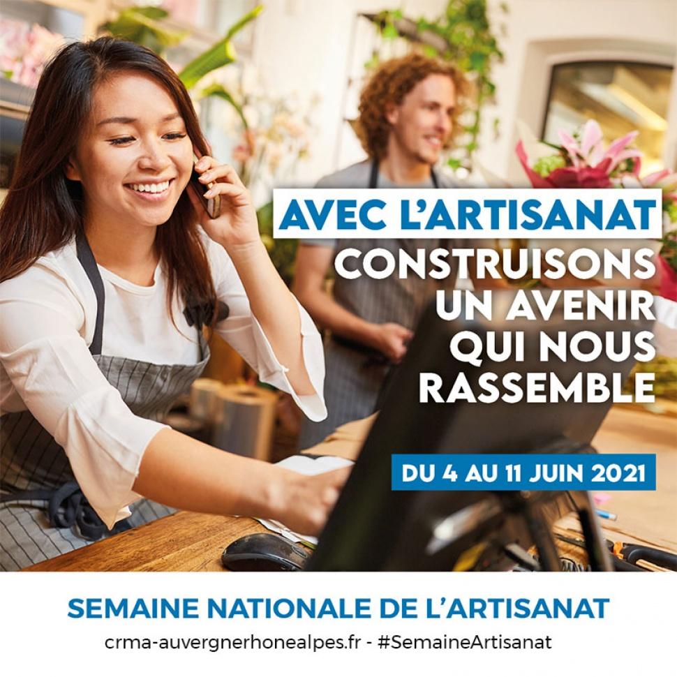 Semaine nationale de l'artisanat 2021